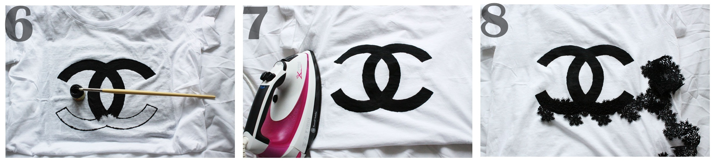 Chanel Logo Shirt Diy 69