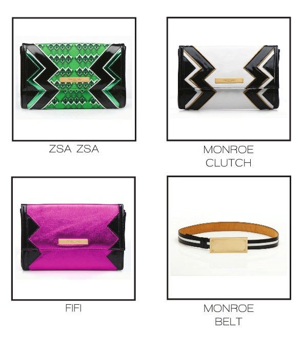 adara leigh african inspired clutches and belt