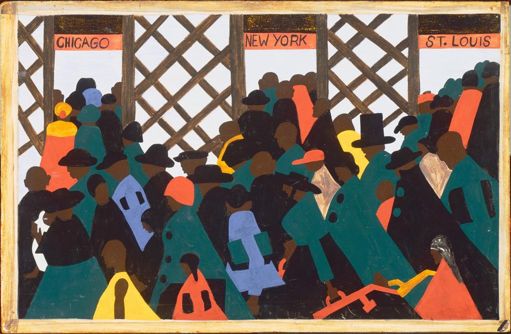 the great migration_art series_jacob lawrence (1)