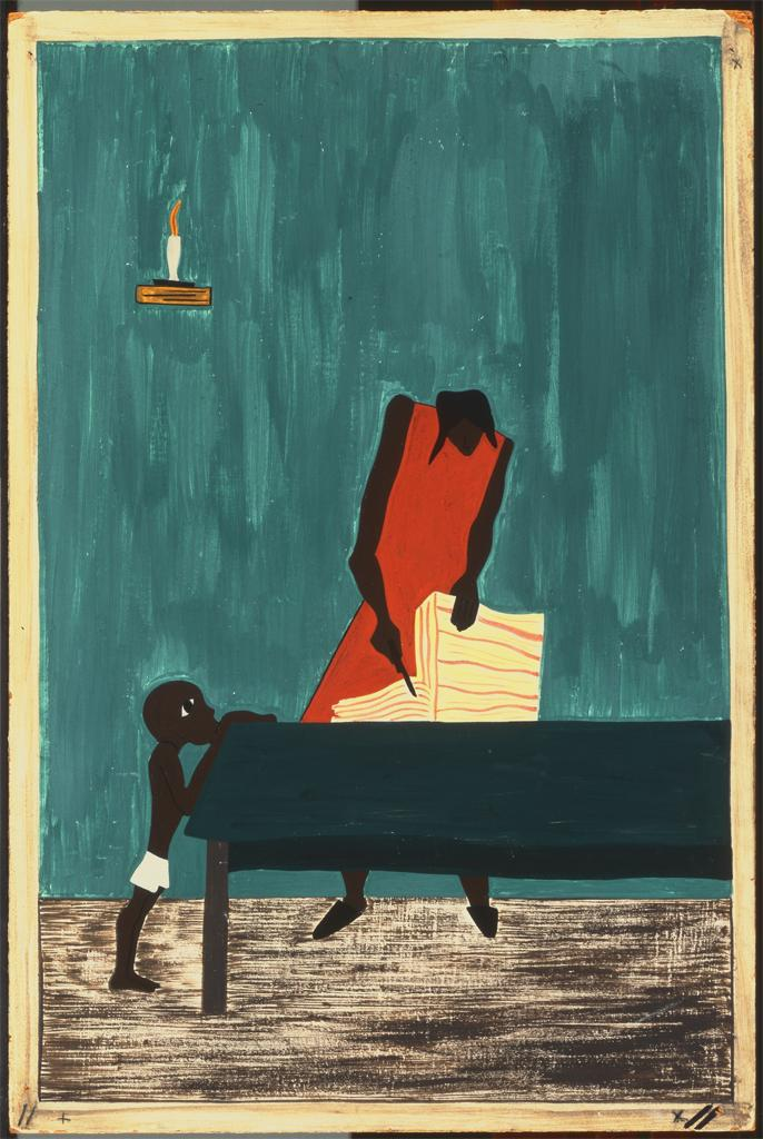 the great migration_art series_jacob lawrence (11)