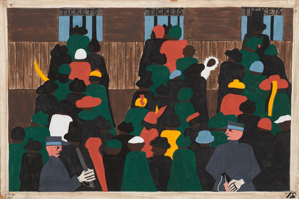 the great migration_art series_jacob lawrence (12)
