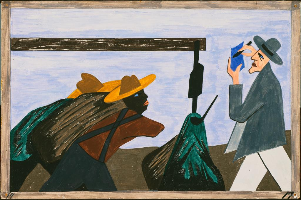 the great migration_art series_jacob lawrence (17)