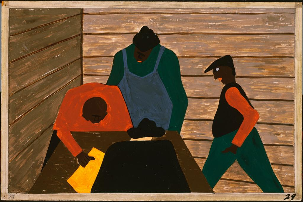 the great migration_art series_jacob lawrence (29)