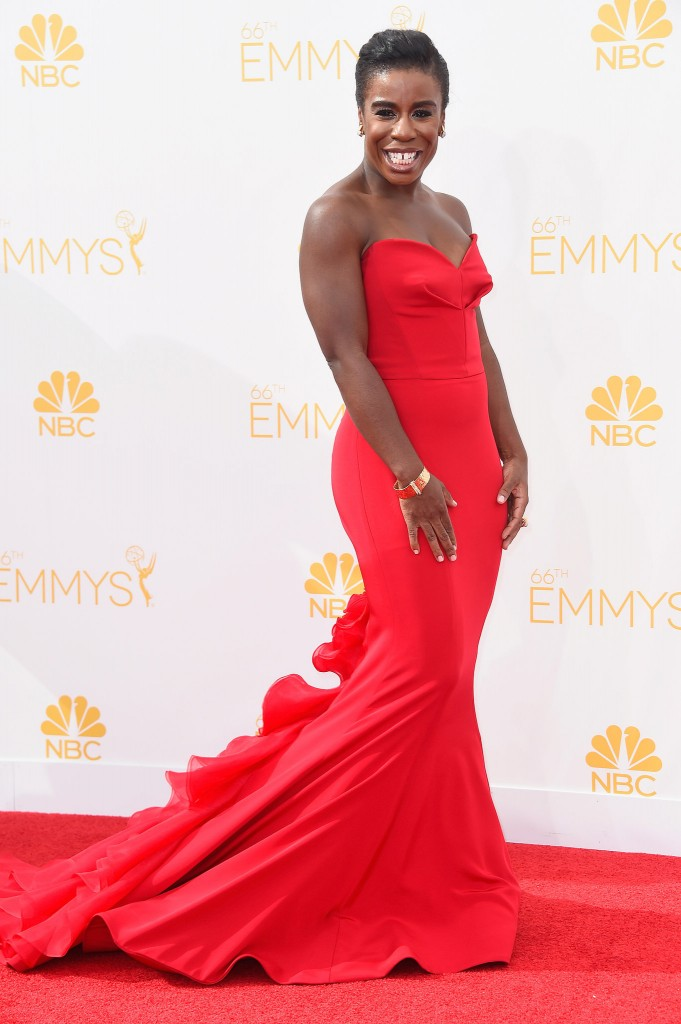uzoamaka aduba on the emmys 2014 red carpet