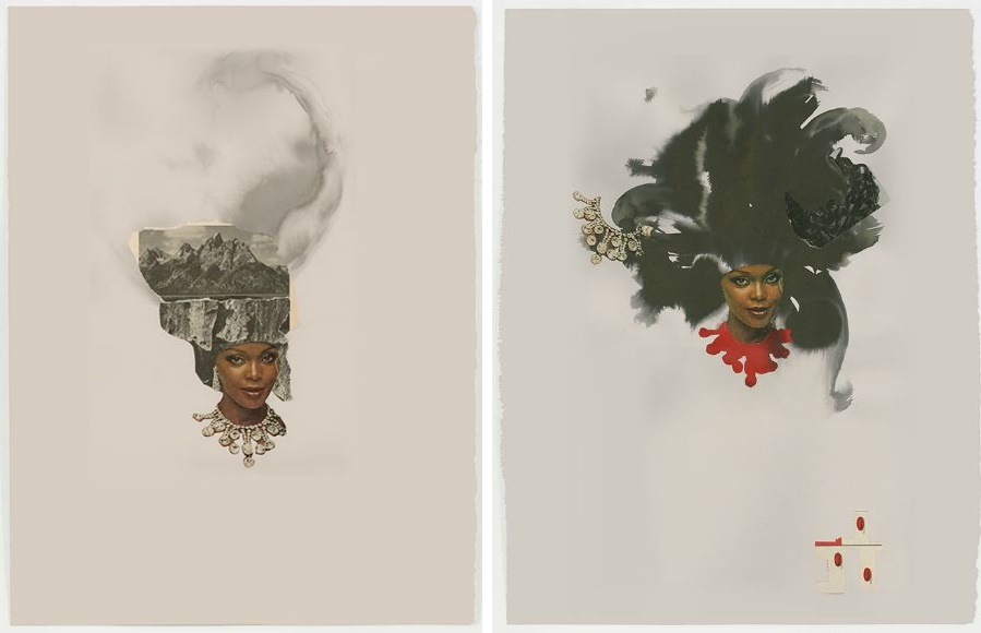 riunite & ice _1-6-lonra-simpson-art-photography-ebony-collage-African-America-black-woman-contemporary-artist