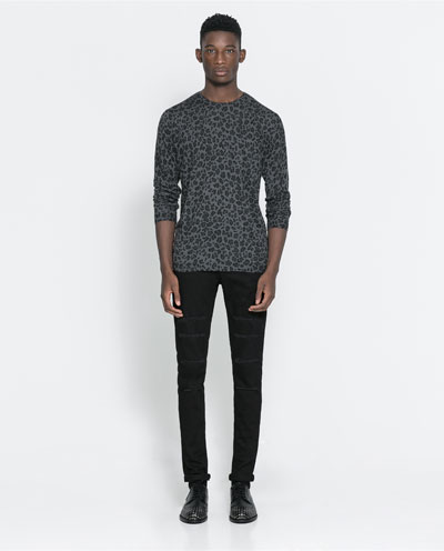 Harry Uzoka For The Beat Collection By Zara