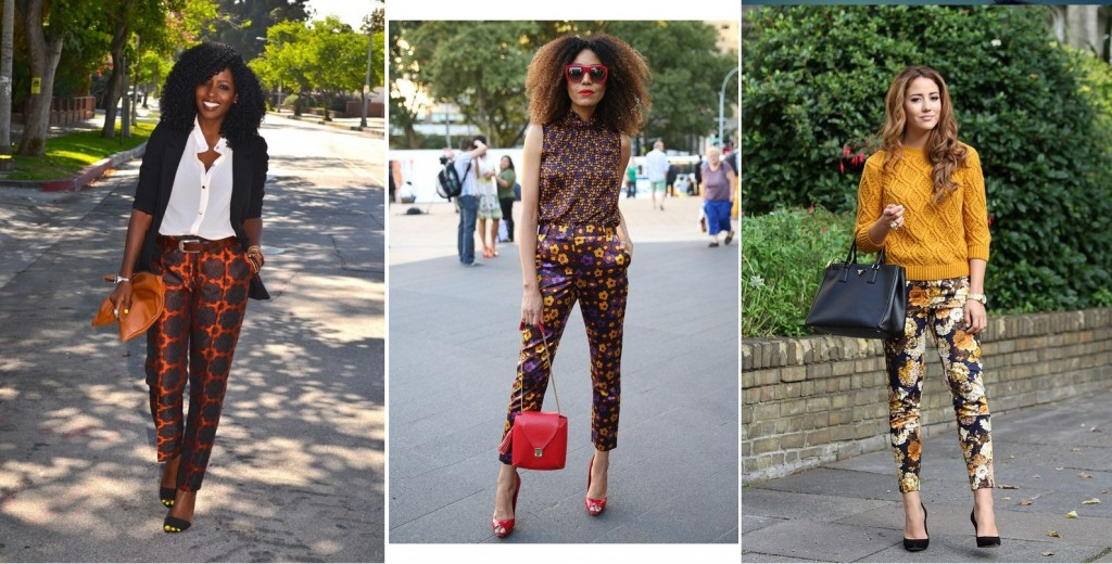 print on prints how to wear and style fancy pant trousers