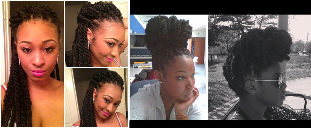havana twists natural hair protective braid style for black women