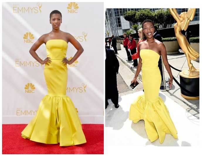samira wiley at the 2014 emmy awards