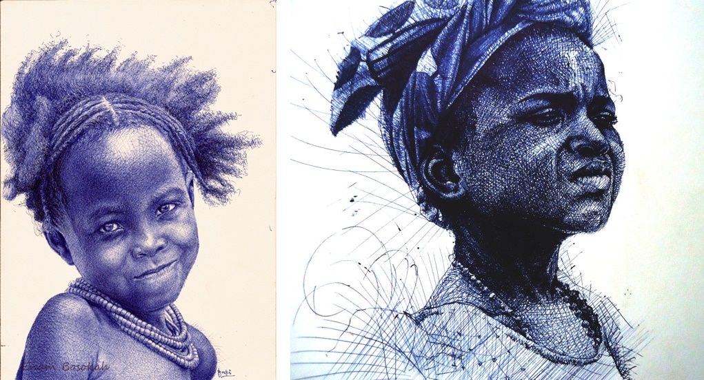 enam_bosokah_ghanian_african_artist_biro_ball_point_pen_art_amazing_blog
