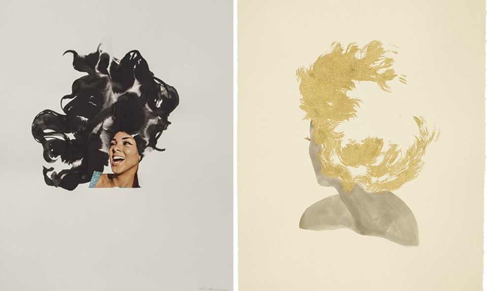 full-gold-head-lonra-simpson-art-photography-ebony-collage-African-America-black-woman-contemporary-artist